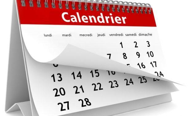 Le calendrier des candidatures (année universitaire : 2021/2022